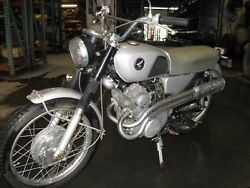 1966 Honda CL 160 Motorcycle Complete (Barn Find)