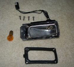 1966 Ford Turn Signal And Parking Lamp Housing W Gasket Galaxie Custom 66 Light