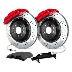 For Pontiac Gto 04-06 Baer Extreme Plus Drilled And Slotted Rear Brake System