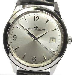 Jaeger LECoultre Master control 176.8.40.S Automatic Leather Men's_474089