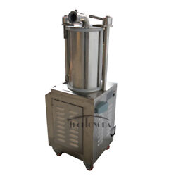 110v 1100w Commercial Hydraulic Sausage Stuffer Filler Stainless Steel Sf-260