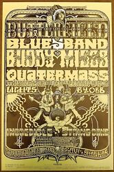 Paul Butterfield Quatermass Buddy Miles Incredible String Band Ravi Shank Poster