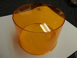 New Antique Police Car Light Lens Cover 90373 Yellow