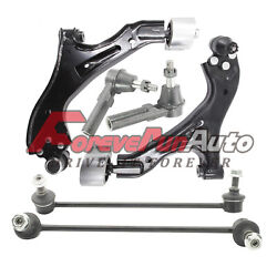 6pc Lower Control Arm Ball Joint Sway Bar For 05-09 Chevy Equinox Pontia Torrent