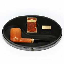 S.t. Dupont Castello 130th Anniversary Limited Edition Pipe And Lighter New In Box