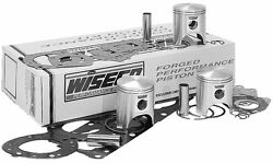 Wiseco Wk1078 Top End Piston Kit 1.50mm Overbore 71.25mm Fits Polaris Sl T 750