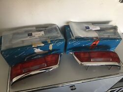 New Mercedes-benz W111 W112 Coupe Convertible Taillights + Gaskets L+r Oem