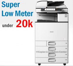 Ricoh Mpc 3503 Mp C3503 Color Network Copier Print Fax Scan To Email. 35 Ppm Ju
