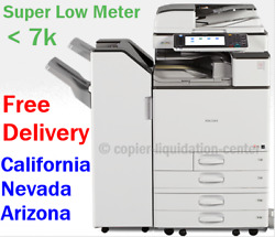Ricoh Mpc3003 Mp C3003 Color Network Copier Print Fax Scan To Email. 30 Ppm Cr