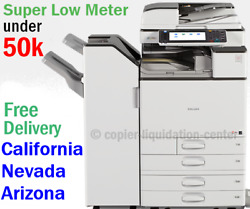 Ricoh Mpc3003 Mp C3003 Color Network Copier Print Fax Scan To Email. 30 Ppm Fti