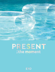 Exo Present The Moment Photo Book 204 Page+2p Clear Photo Card K-pop Sealed