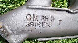 3916178 69 Right Side Big Block Exhaust Manifold Non Smog Hole Date I-25-8
