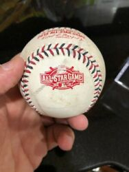Zack Grienke Thrown 2015 Asg Game Used Ball One Of The Greatest Of Our Time Mlb