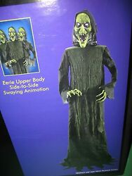 Life Size Witch Animated - Over 6 Feet - Sways Side To Side - Eyes Light Up New
