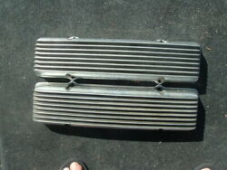 1949-1959 Cadillac Moon And039no Nameand039 Valve Covers By Holmes Manufacturing Vintage