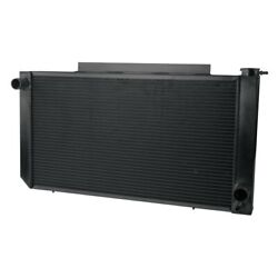 For Chevy S10 82-93 Afco 80240-b-db-y Muscle Car Performance Radiator W Dual Fan