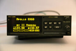 Apollo Garmin II Morrow GX60 GPSCOMM ACU Tray - Screen in excellent condition