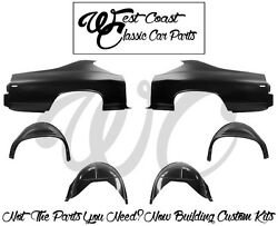 *1969 Chevelle Quarter Panels WTail Lamp Extensions InnerOuter Wheelhouses