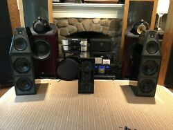 Wilson Audio WATT  Puppy System V (5) Speakers - With Grills and Spikes