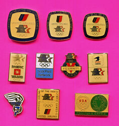 1984 Olympic Pin Prototypes - Rare - Le- Pin Badges Pick 1-2-3 Add To Cart 84 La