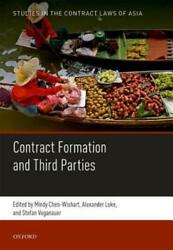 Formation And Third Party Beneficiaries By Mindy Chen-wishart New