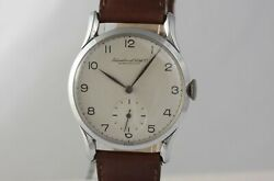 Vintage Stunning Watch 33mm Steel Case Unusual And Rare Lugs Cal. 83
