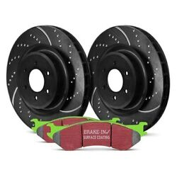 For Chevy S10 89-97 Ebc Stage 3 Truck And Suv Dimpled And Slotted Front Brake Kit