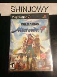 New Sealed Wild Arms Alter Code F Ps2 - Ntsc U/c