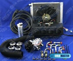 A/c Kit Universal Under Dash Evaporator 432-7b10 Comp12x16 Cond And Elec. Harness
