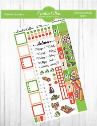 HW 0007 Planner Stickers Sushi Fits the Hobonichi Weeks Fish $3.75