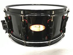 Pearl Masterworks And039redlineand039 15 X 6.5 Snare Drum/20 Ply Maple-birch Shell/rare