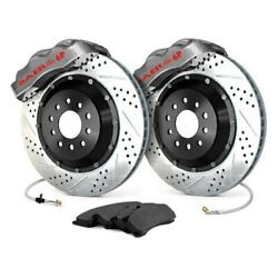 For Buick Skylark 64-67 Baer Pro Plus Drilled And Slotted Front Brake System