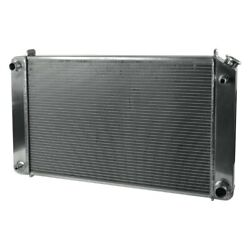 For Chevy C30 75-79 Afco 80242-s-ds-n Muscle Car Performance Radiator W Dual Fan