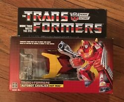 Transformers More Than Meets The Eye G1 Reissue Autobot Hot Rod