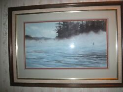 Michael Ringer Signed Watercolor - Early 1980s - Valued By Ringer Gallery 5200