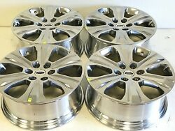 20 Inch Ford F150 Expedition Set Of 4 04-2019 Polished Factory Oem Wheels Rims