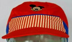 Just 4 Kids Mickey Mouse Vintage 1980s Hat Cap One Size Fits All Collectible