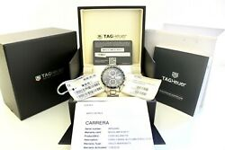 Tag Heuer Carrera Calibre 16 CV201AG.BA0725, New and Unworn, Box and papers