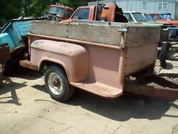 55-59 1955 Chevy Gmc Truck 8 Foot 3/4 Ton Pickup Bed Trailer