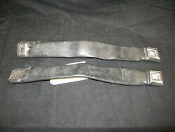 1971 Ford Mustang Convertible Seat Belts