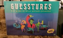 Vintage Guesstures Game By Milton Bradley 1999 Edition 100 Complete Sealed