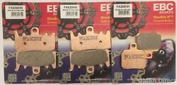 Ebc Sintered Front And Rear Fits Brake Pads Ducati Monster 821 2015 To 2021