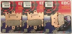 Ebc Sintered Front And Rear Brake Pads Fits Ducati Monster 797 2017 To 2021