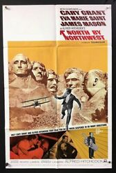 North By Northwest Movie Poster Alfred Hitchcock Cary Grant Hollywood Posters
