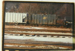 Rr Train Slide Cnw Chicago And North Western Covered Hopper 95747 Akron Oh Gt12