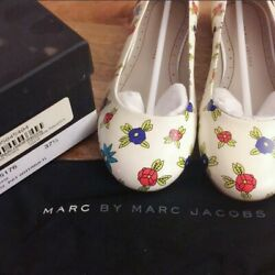 Brand New_Marc by Marc Jacobs Miss Marc Flower Patent Ballet Flats_ sz 37.5