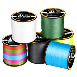300 1000M Super Strong PE Lines Braided Sea Fishing Line 4 8 Strands 12 100LB $11.99