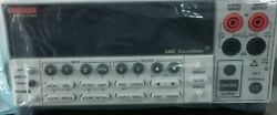 NEW Keithley 2400 Source Meter with standard accessories and Calibration