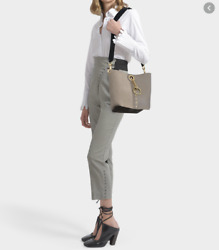See by Chloe GAIA Leather amp; Suede Bucket Bag in Motty Grey MSRP $ 520 $287.95