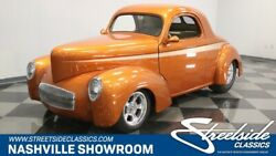 1941 Willys Coupe -- treet Rod custom build Vintage AC call for full details